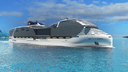 Chantiers de l'Atlantique – MSC WORLDCLASS