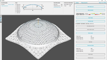 Precise dome processing with mScan