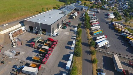 Truck-Center Backes in der Eifel
