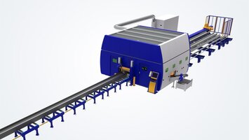 Automated handling of H, U and L beams