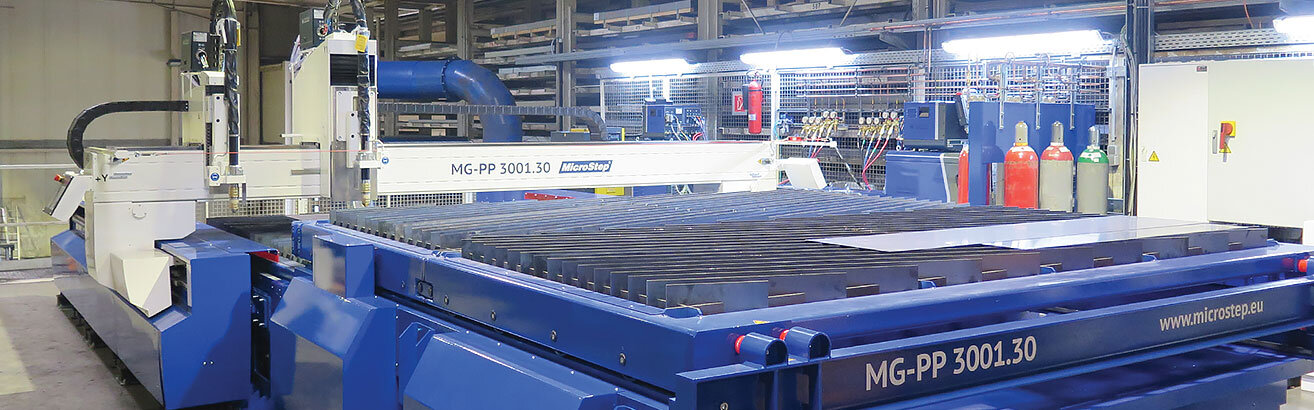 Faster and more economical production thanks to plasma cutting system with shuttle table